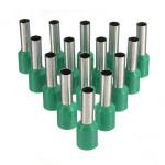 100stk AWG 10 Green Draht Kupfer Crimp Insulated Cord Pin Endklemme Instrumente und Werkzeuge