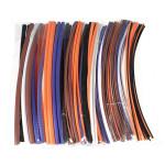 100stk Sortiment 2: 1 Krympeflex Tube Sleeving Wrap Kit 6 Størrelse Instrument & Værktøj