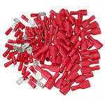100pcs Male&Female Insulated Spade Quick Wire Crimp Connector Terminal Professional Instruments & Tools