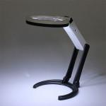 10 LED Belysning Desk Håndholdt lampe Med 1,8x 5X Magnifier Instrument & Værktøj