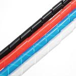 10M Spiraldrahtwickel Rohr verwalten Cord f PC Computer Home Kabel 6 60mm Instrumente und Werkzeuge