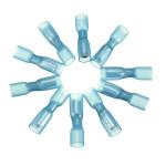 10er 0.7cm Blau Terminals Isolierte weibliche Gewehrkugel Verbindungs 1.5 2.5mm² 16 14AWG Instrumente und Werkzeuge