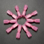 10st 0.7cm Röda Terminal Hona Bullet Kontakt 0.5-1.5mm² 22-16AWG Instrument & Verktyg