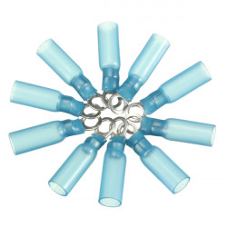 10stk 4.3mm Blau Terminals Klemmring 1.5 2.5mm² 16 14AWG M4