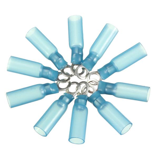 10stk 4.3mm Blau Terminals Klemmring 1.5 2.5mm² 16 14AWG M4 Instrumente und Werkzeuge