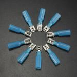 10stk 6.3 Mm Rød Terminals Hun Spade Kabelsko 1.5-2.5mm² 16-14AWG Instrument & Værktøj