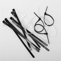 10st Releasable Återanvändbara Zip Tie Wrap Kabelslinga Slipsar