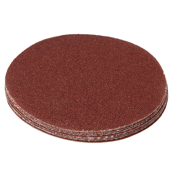 10Pcs 125mm Sanding Discs Sander Sheets Circular Sandpaper Professional Instruments & Tools