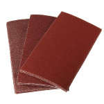 10Pcs 135 x 68mm Rectangular Mixed Grit Sander Sandpaper Professional Instruments & Tools