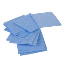 10Pcs 60 x 60mm Blue Solder Cleaning Sponge For Soldering Iron Tip