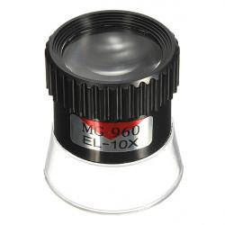 10X monokulare Vergrößerungsglas Lupe Objektiv Augen Vergrößerungs