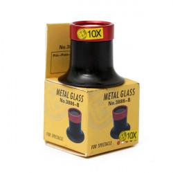10X Monocular Magnifying Glass Loupe Lens Magnifier Eyeglass Repair Tools