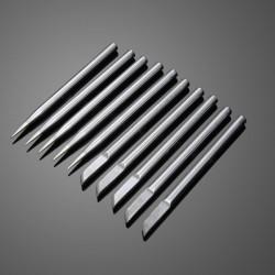 10st 4.7mm 40W Superior Koppar Extern Uppvärmd Löddning Miljövänlig Lödkolv Tips