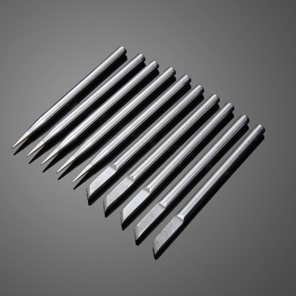 10st 4.7mm 40W Superior Koppar Extern Uppvärmd Löddning Miljövänlig Lödkolv Tips Instrument & Verktyg