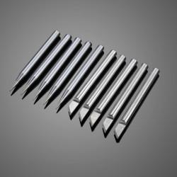 10st 5.7mm 60W Superior Koppar Extern Uppvärmd Miljövänlig Löddning Lödkolv Tips