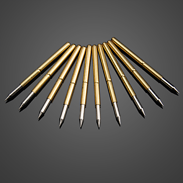 10pcs Ultra Pointed Golden Flexible Multimeter Probe PCB Test Needle Professional Instruments & Tools
