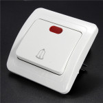 110-250V Gang Way LED Wall Push Press Button Doorbell Switch Control Panel Professional Instruments & Tools