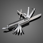 11 in 1 Multifunction Folding Knife Bottle Opener Screwdriver Tool Professional Instruments & Tools