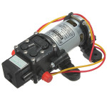 12V DC 4L/Min 100PSI High Pressure Diaphragm Water Pump Professional Instruments & Tools