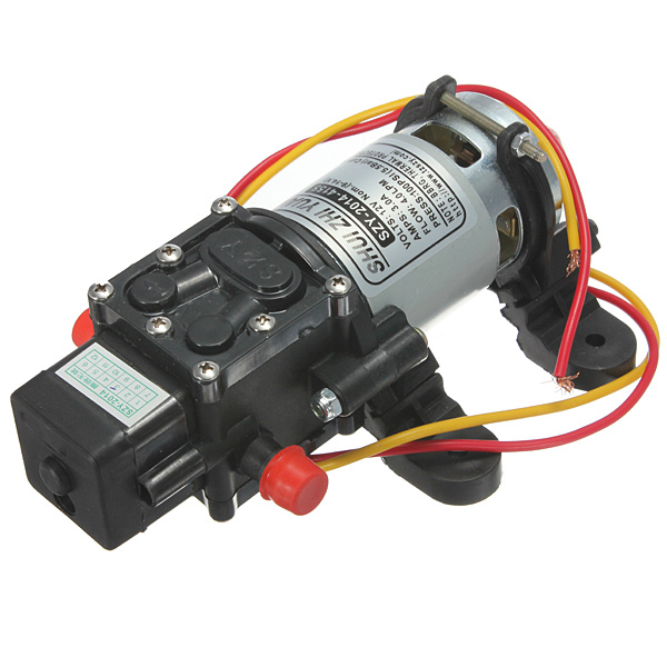 12V DC 4L/Min 100PSI High Pressure Diaphragm Water Pump Professional Instruments & Tools