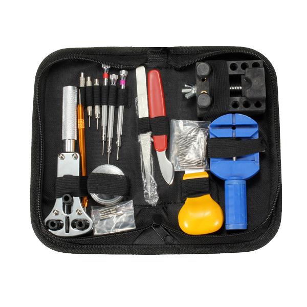 144stk Opener Pins Verbindungs Remover Frühlings Stab Uhr Reparatur Tool Kit Instrumente und Werkzeuge