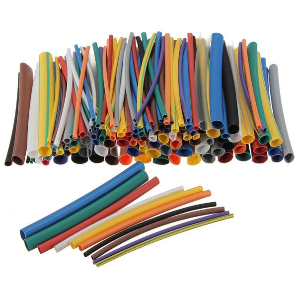 144pcs 12 Color 6 Size Heat Shrink Tube Sleeve Kit Professional Instruments & Tools