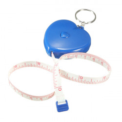 1.5M Keychain Retractable Ruler Tape Measure Small Portable Pull Ruler