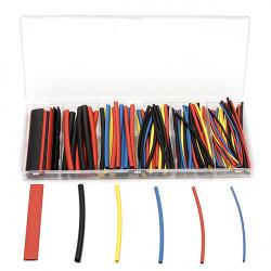 160st 2: 1 Polyolefin H-typ Krympslang Sleeving 4 Färger 6Size