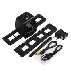 1800dpi 5MP Digital 35mm Filmnegativ Scanner / Converter 2.36 Zoll LCD