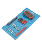 1 Full Set Multifunction Digital Multimeter Probe Test Leads Cable Professional Instruments & Tools