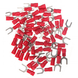 20Pcs 0.5-1.5mm² Red Heat Shrink Electrical Terminal Connectors