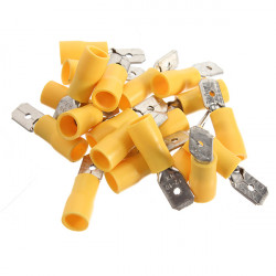 20pcs 4-6mm² Insulated Electrical Wire Crimp Terminal Connector