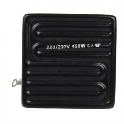 220 / 230V 450W 80x80mm Strahler aus Keramik Heizplatte für BGA Arbeits