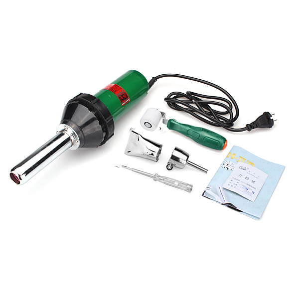220V 1000W Handheld Plastic Welder Hot Air Gun Vinyl Welding Heat Gun Professional Instruments & Tools