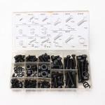 240stk M4 M5 M6 M8 M10 Afstandsstykker Skrue Nut Bolt Sortiment Kit Instrument & Værktøj