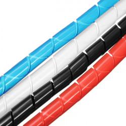 2M Spirale Wire Wrap Schlauch verwalten Kabel für PC Computer Home Kabel 4 50MM