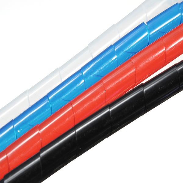 2M Spirale Wire Wrap Schlauch verwalten Kabel für PC Computer Home Kabel 6 60mm Instrumente und Werkzeuge