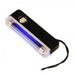 2 i 1 UV Svart Light Torch Portable Falska Pengar Cash Detektering
