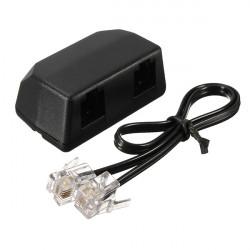 3.5mm Diktafon Telefon Optagelse Adapter til Voice Recorder