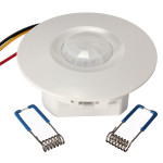 360 Degree Mini Forsænket PIR Loft Motion Sensor Detector Switch Instrument & Værktøj