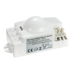 360 Grad 500W Mikrowelle Smart Motion Sensor Licht Radar Schalter Deckeneinbau