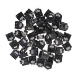 50pcs 3.5mm 5Pin Female Stereo Audio Jack Panel Mount Professional Instruments & Tools
