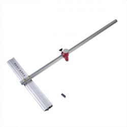 60cm Länge T Typ Aluminiumlegierung Drücken Glasschneider Werkzeug