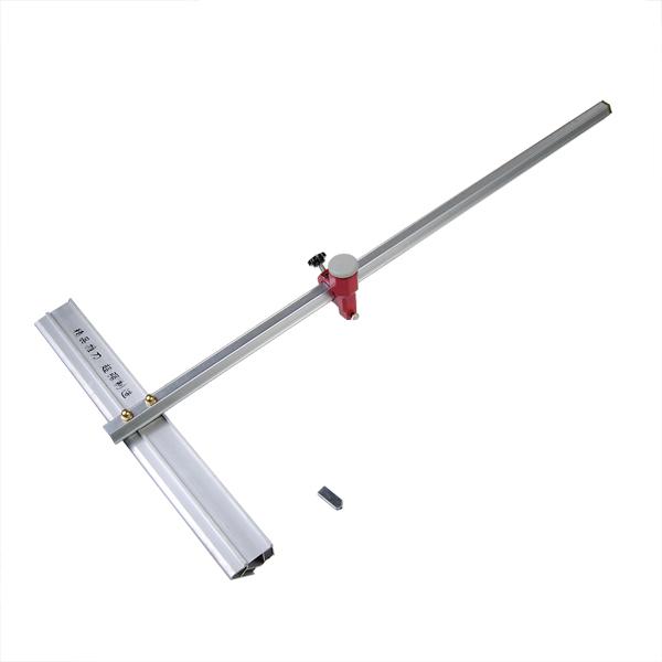 60cm Länge T Typ Aluminiumlegierung Drücken Glasschneider Werkzeug Instrumente und Werkzeuge