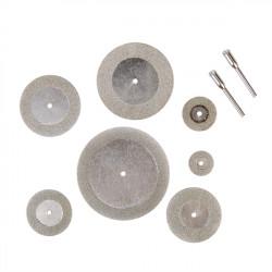 7 stk Diamond Grinding Slice Dremel Skæreskiver til Rotary Værktøjer
