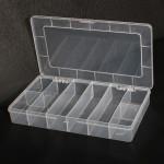 8 Fack Lagring Plast Elektronik Verktyg Prylar Box Fall Instrument & Verktyg