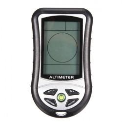 8 In 1 Digital LCD Compass Altimeter Barometer Thermo Temperature Clock Calendar