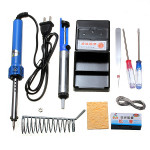 9 in 1 Electric Soldering Tools Set With Iron Stand Desolder Pump Professional Instruments & Tools