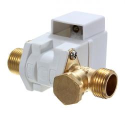 AC 220V 1 / 2inch Elektrisk N / C Magnetventil för Vatten Luft