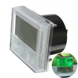 AC 80 300V 3in1 LCD Zeit Voltage Frequency Combo Meter für Generator